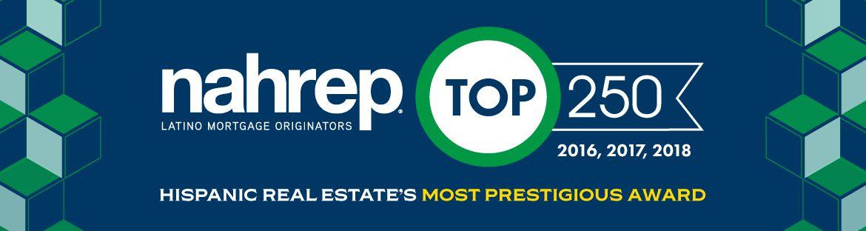 NAHREP Top 250, 2016, 2017, 2018